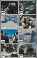 "Movie Posters:Action, Blue Thunder (Columbia, 1983). Lobby Card Set of 8 (11"" X 14""). Action.... (Total: 8 Items)"