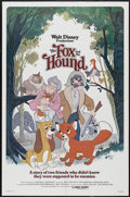"Movie Posters:Animated, The Fox and the Hound (Buena Vista, 1981). One Sheet (27"" X 41""). Animated...."