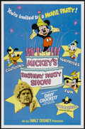"Movie Posters:Adventure, Mickey's Birthday Party Show (Buena Vista, 1978). One Sheet (27"" X41""). Walt Disney Adventure...."