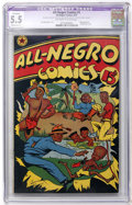 Golden Age (1938-1955):Humor, All-Negro Comics #1 (All-Negro Comics, 1947) CGC Apparent FN- 5.5 Moderate (P) Off-white to white pages....