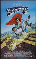 """Movie Posters:Action, Superman III (Warner Brothers, 1983). One Sheet (27"""" X 41"""").Action...."""