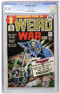 Weird War Tales #1 (DC, 1971) CGC NM 9.4 Off-white pages