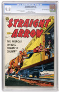 Golden Age (1938-1955):Western, Straight Arrow #7 Mile High pedigree (Magazine Enterprises, 1950)CGC NM/MT 9.8 Off-white to white pages....