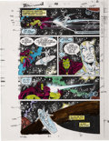 Original Comic Art:Miscellaneous, Silver Surfer #48 Color Guide Production Art (Marvel, 1991)....(Total: 20 Items)