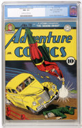 Golden Age (1938-1955):Superhero, Adventure Comics #70 Mile High pedigree (DC, 1942) CGC NM+ 9.6 Off-white to white pages....