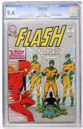 Silver Age (1956-1969):Superhero, The Flash #136 (DC, 1963) CGC NM 9.4 White pages....