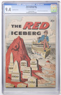 Golden Age (1938-1955):Non-Fiction, The Red Iceberg #nn 3rd Version (Impact, 1960) CGC NM 9.4 Off-whiteto white pages....