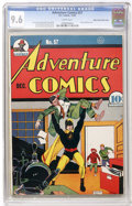 Golden Age (1938-1955):Superhero, Adventure Comics #57 Mile High pedigree (DC, 1940) CGC NM+ 9.6 White pages....