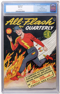 All-Flash #1 Denver pedigree (DC, 1941) CGC NM 9.4 Off-white pages