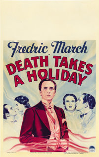 "Death Takes a Holiday (Paramount, 1934). Window Card (14"" X 22"")"