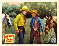 """Movie Posters:Western, The New Frontier (Republic, 1935). Lobby Card (11"""" X 14"""")...."""