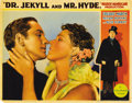 "Movie Posters:Horror, Dr. Jekyll and Mr. Hyde (Paramount, 1931). Lobby Card (11"" X14"")...."