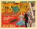 """Movie Posters:Musical, Top Hat (RKO, 1935). Title Lobby Card (11"""" X 14"""")...."""