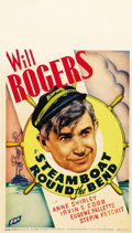 "Movie Posters:Comedy, Steamboat Round the Bend (Fox, 1935). Midget Window Card (8"" X14"")...."