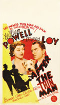 "Movie Posters:Mystery, After the Thin Man (MGM, 1936). Midget Window Card (8"" X 14"")...."