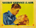 """Movie Posters:Action, Secret Service of the Air (Warner Brothers, 1938). Lobby Cards (2)(11"""" X 14"""").... (Total: 2 Items)"""