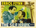 "Movie Posters:Adventure, The Sea Hawk (Warner Brothers, 1940). Lobby Card (11"" X 14"")...."