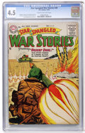 Golden Age (1938-1955):War, Star Spangled War Stories #40 (DC, 1955) CGC VG+ 4.5 Cream tooff-white pages....