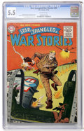 Golden Age (1938-1955):War, Star Spangled War Stories #39 (DC, 1955) CGC FN- 5.5 Off-whitepages....