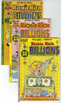 Bronze Age (1970-1979):Cartoon Character, Richie Rich Billions - File Copy Group (Harvey, 1977-82) Condition:Average NM-.... (Total: 19 Comic Books)