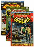 Bronze Age (1970-1979):Horror, Tomb of Dracula #1-9 Group (Marvel, 1972-73) Condition: AverageFN/VF.... (Total: 9 Comic Books)