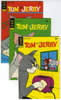 Bronze Age (1970-1979):Cartoon Character, Tom and Jerry - File Copy Group (Gold Key, 1973-77) Condition:Average VF/NM.... (Total: 26 Comic Books)