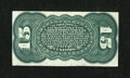 Fractional Currency:Third Issue, Fr. 1272SP 15c Third Issue Narrow Margin Back Very Choice New....
