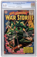 Golden Age (1938-1955):War, Star Spangled War Stories #31 (DC, 1955) CGC FN- 5.5 Cream tooff-white pages....
