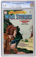 Golden Age (1938-1955):War, Star Spangled War Stories #30 (DC, 1955) CGC VG/FN 5.0 Off-white towhite pages....