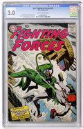 Silver Age (1956-1969):War, Our Fighting Forces #24 (DC, 1957) CGC GD/VG 3.0 Slightly brittle pages....