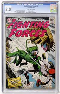 Our Fighting Forces #24 (DC, 1957) CGC GD/VG 3.0 Slightly brittle pages