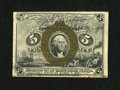 Fractional Currency:Second Issue, Fr. 1232 5c Second Issue with Huston Courtesy Autograph Choice New....