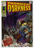 Silver Age (1956-1969):Horror, Chamber of Darkness #1 (Marvel, 1969) Condition: VF....
