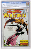Silver Age (1956-1969):War, Star Spangled War Stories #115 (DC, 1964) CGC VF- 7.5 Cream to off-white pages....