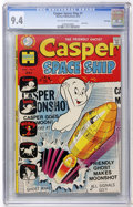Bronze Age (1970-1979):Cartoon Character, Casper Spaceship #1 File Copy (Harvey, 1972) CGC NM 9.4 Off-whiteto white pages....