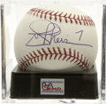 Autographs:Baseballs, Joe Theismann Single Signed Baseball, PSA Mint+ 9.5. The WashingtonRedskins ring of Fame quarterback Joe Theismann has appl...