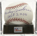 "Autographs:Baseballs, Sparky Anderson ""HOF 2000"" Single Signed Baseball, PSA Gem Mint 10.One of the game's finest skippers, Sparky Anderson can ..."