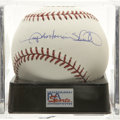 Autographs:Baseballs, Gary Antonian Sheffield Single Signed Baseball, PSA Mint 9. TheTigers' dangerous batsman Gary Sheffield provides us with a ...