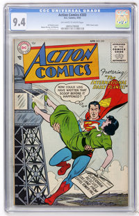 Action Comics #203 (DC, 1955) CGC NM 9.4 Off-white to white pages