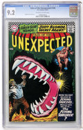 Silver Age (1956-1969):Horror, Tales of the Unexpected #100 (DC, 1967) CGC NM- 9.2 Off-white towhite pages....