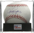 "Autographs:Baseballs, Alex Rodriguez ""#13"" Single Signed Baseball, PSA Mint+ 9.5. Blessedwith ridiculous talent, the Yankees slugger Alex Rodrig..."