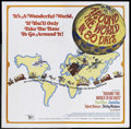 """Movie Posters:Academy Award Winner, Around the World in Eighty Days (United Artists, R-1968). Six Sheet (81"""" X 81""""). Adventure. Starring David Niven, Cantinflas..."""