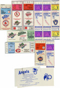 Baseball Collectibles:Tickets, 1982-90 Baseball Postseason Tickets/Stubs Lot of 10. Greatcollection of 10 tickets and stubs come to us courtesy of league...