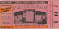 Baseball Collectibles:Tickets, 1958 All-Star Game Ticket Stub. Superb ticket stub from the 1958edition of MLB's All-Star game, which was played at Baltim...