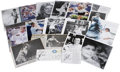 Autographs:Others, Women's Tennis Signatures Lot of 18. Appearing mostly on photos orperiodicals, here we offer 18 pieces signed by the top n...