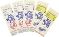 Baseball Collectibles:Tickets, 1978 World Series Ticket Stubs Lot of 5. The 1978 World Seriespitted the Los Angeles Dodgers against the New York Yankees, ...
