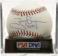 "Autographs:Baseballs, Tony Gwynn ""3141"" Single Signed Baseball, PSA Gem Mint 10. One ofCooperstown's newest elect has made note of his tremendous..."