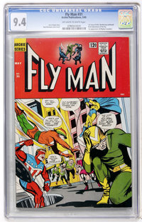 Fly Man #31 (Archie, 1965) CGC NM 9.4 Off-white to white pages