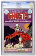Bronze Age (1970-1979):Horror, Ghosts #22 (DC, 1974) CGC NM 9.4 Off-white to white pages....