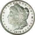 Morgan Dollars, 1878 7/8TF $1 Strong MS65 Prooflike NGC....